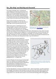 """Der """"36er Weg"""" von Ried-Brig nach Rosswald"""