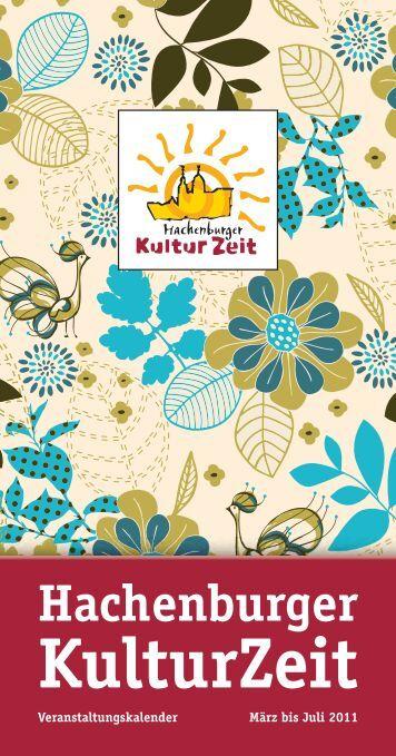 VA-Kalender 1-2011_Inhalt - Hachenburger-Kulturzeit