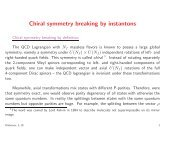 Chiral symmetry breaking by instantons