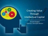 Creating Value Through Intellectual Capital - Technopak
