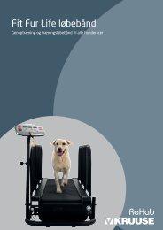 Fit Fur LIfe løbebånd brochure - Kruuse