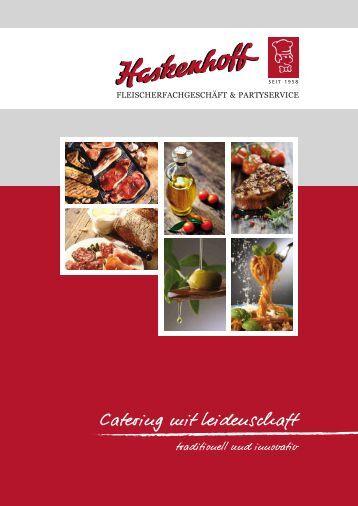 Unser aktueller Katalog - Haskenhoff