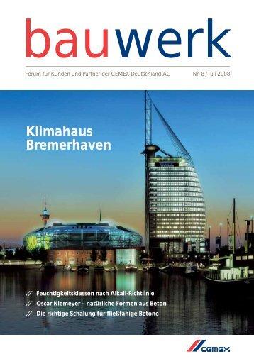 Nr. 8 / Juli 2008 - Cemex Deutschland AG