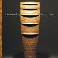 Simon Olding, Matthew Burt: idea to object