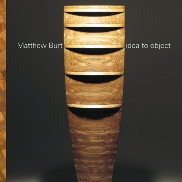 Simon Olding, Matthew Burt: idea to object