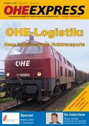 Neue Impulse durch Holztransporte - OHE