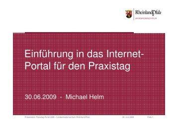 Praxistag-Portal
