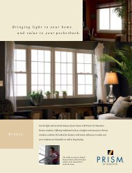 Bringing light to your home and value to your pocketbook. Bronze