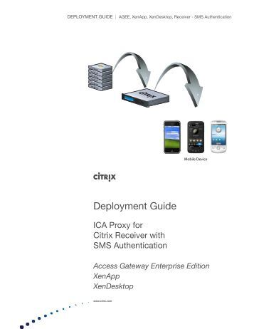 citrix deployment F5 deployment guide deploying f5 with citrix xenapp or xendesktop welcome to the f5 deployment guide for citrix ® vdi applications, including xenapp and xendesktop with the big-ip system v114.