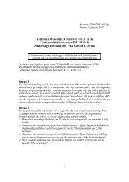Tentamen Wiskunde B voor CiT (151217) en Tentamen Statistiek ...