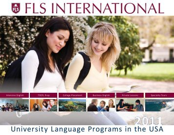 University Language Programs in the USA - FLS International