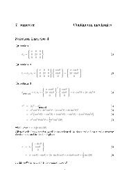 7. semester Continuum mechanics Solution Exercise 4