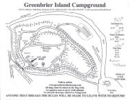 Greenbrier Island Campground Gatlinburg Brochure (865) 436-4243