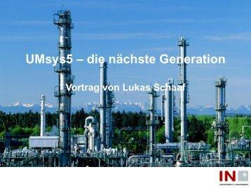 UMsys5 – die nächste Software-Generation - Inplus GmbH