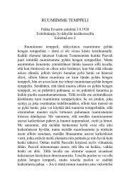 RUUMIIMME TEMPPELI - Pekka Ervast