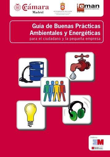 Guía de buenas prácticas ambientales y energéticas para