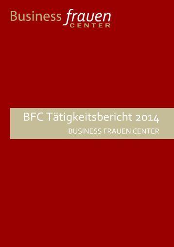 BFC Tätigkeitsbericht 2014