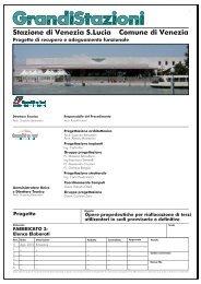 1. Elenco elaborati (.pdf 326 KB ) - Grandi Stazioni S.p.A.