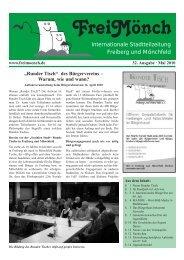 Ausgabe 32 - Bürgerverein Freiberg und Mönchfeld eV