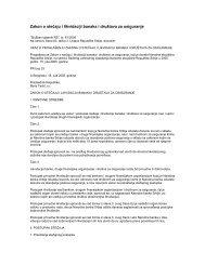 Zakon o stečaju i likvidaciji banaka i društava za osiguranje