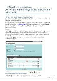ansogning-modtagelse.. - Optagelse.dk