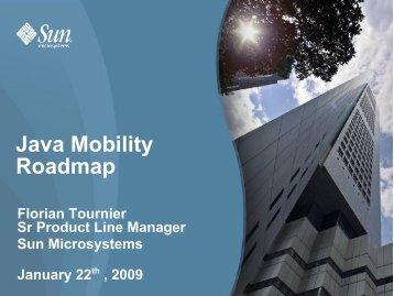Java Mobility Roadmap - download - Java