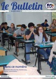 Dans ce numéro - Lycée Français Kuala Lumpur