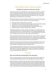 Baûn Tin Hackney Homes: Thaùng 6 naêm 2008 TIN VAÉN