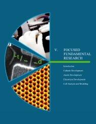 V. Focused Fundamental Research - EERE - U.S. Department of ...