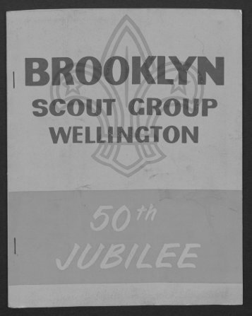 BrooklynScouts 50th Anniversary Booklet