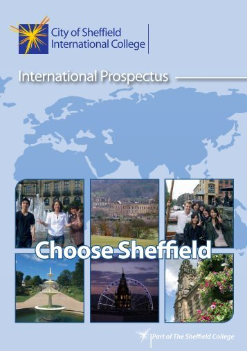 to download the International Prospectus - The Sheffield College