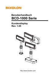 BCD-1000 Serie - BIXOLON