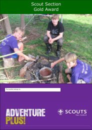 to download - Region 1 Scouting - SCOUTS New Zealand