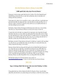Baûn Tin Hackney Homes: Thaùng 11 naêm 2008 2.000 ngöôøi ...
