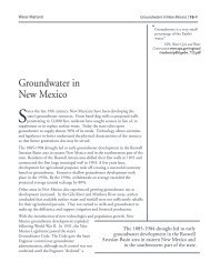 Groundwater in New Mexico - Utton Transboundary Resources Center