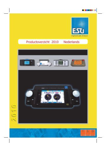Productoverzicht 2010 Nederlands - ESU - Benelux + France