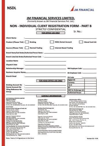 nsdl-non-individual-kyc-form-part-b-jm-financial Online Bank Application Form Hdfc on personal loan, ltd logo, logo download, limited logo, india logo, ltd company, branch bkc,
