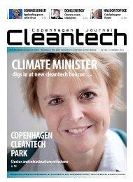 CLIMATE MINISTER - Copenhagen Cleantech Cluster
