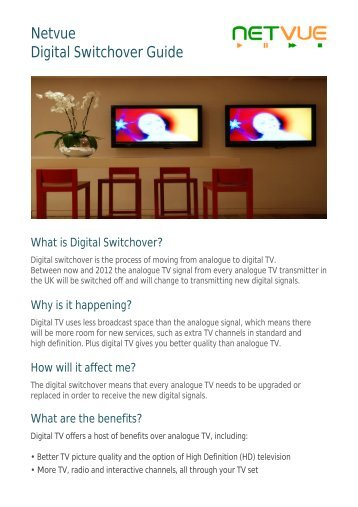 Digital Switchover Guide - Netvue