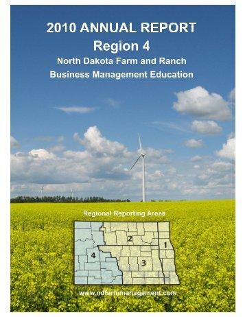 2010 Region 4 Report - North Dakota Farm Management