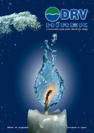 DRV Hírek 2006. december - Dunántúli Regionális Vízmű Zrt.