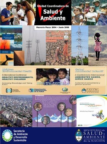Unidad coordinadora de salud y ambiente: memoria marzo 2004