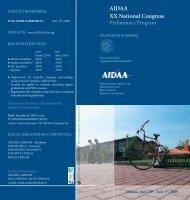 AIDAA XX National Congress - Politecnico di Milano