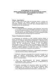 ayuntamiento de villajoyosa bases convocatoria para la ...