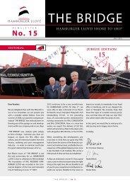 "Photoshooting on the ""BEK""-Ships - RHL   Reederei Hamburger Lloyd"