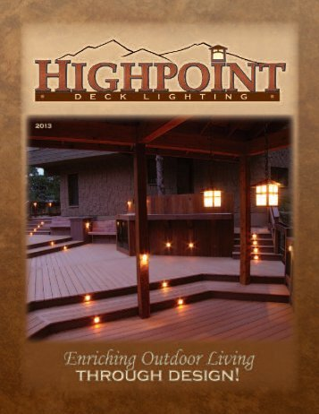 2013 HighPoint Product Catalog 7.5 MB - Hometops