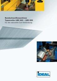 LBS 055 für die rationelle Coil-Verbindung - IDEAL-Werk C. + E ...