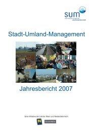 Stadt-Umland-Management Jahresbericht 2007