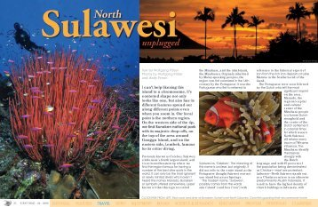 North Sulawesi unplugged - X-Ray Magazine