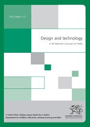 design and technology in the national curriculum for Wales - Digital ...
